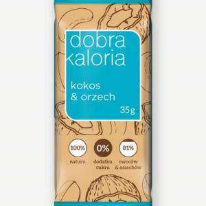 DOBRA KALORIA - Baton Kokos/Orzech 35G