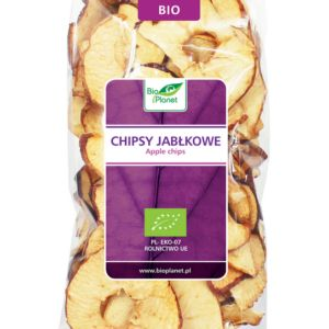BIO PLANET - Eko Chipsy Jabłkowe Bio 100G